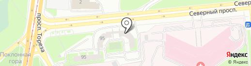 Невский Олимп, ТСЖ на карте Санкт-Петербурга