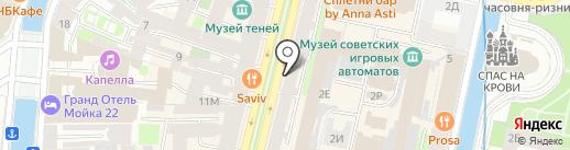 NAMEGALLERY на карте Санкт-Петербурга