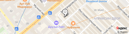 Resto Group на карте Санкт-Петербурга
