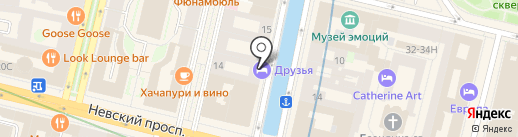 Оранж Систем груп, ЗАО на карте Санкт-Петербурга