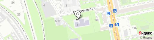 Школа-интернат №1 на карте Санкт-Петербурга