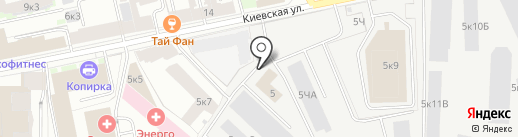 Europek на карте Санкт-Петербурга