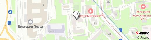 Сообщество специалистов – эзотериков СЗФО РФ на карте Санкт-Петербурга