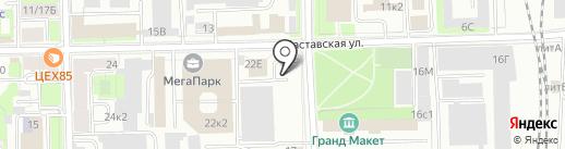 Торгово-производственная компания гофротары на карте Санкт-Петербурга
