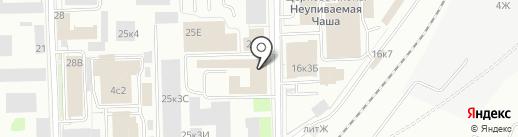 Тайко Электроникс РУС на карте Санкт-Петербурга