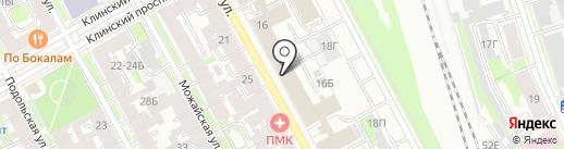 Нотариус Дудич М.Я. на карте Санкт-Петербурга