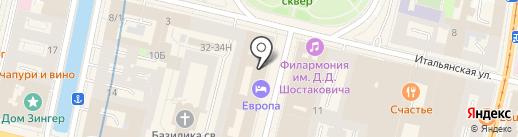 Anna на карте Санкт-Петербурга