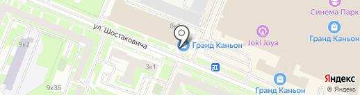 Мебель Черноземья на карте Санкт-Петербурга