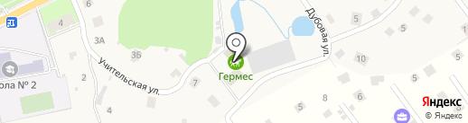 Гермес на карте Вартемяг