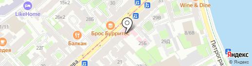 Детская поликлиника №19 на карте Санкт-Петербурга
