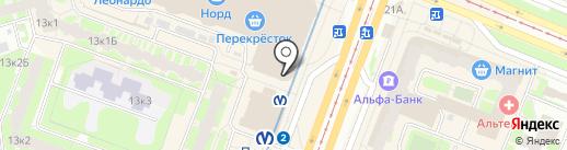 Amalique на карте Санкт-Петербурга