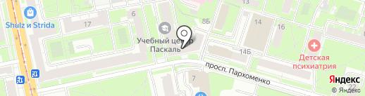 САМПО на карте Санкт-Петербурга