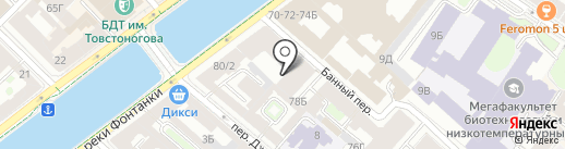 ДЕТГИЗ на карте Санкт-Петербурга