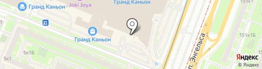 Банкомат, Бинбанк, ПАО на карте Санкт-Петербурга