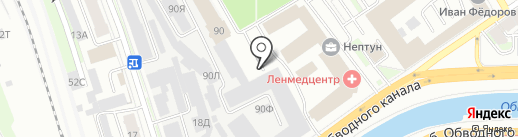 CarАudioРiter.ru на карте Санкт-Петербурга