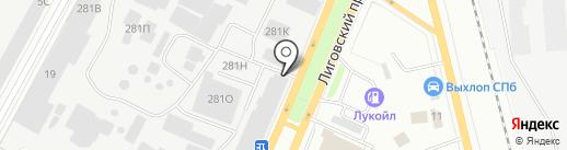 Аист, ЗАО на карте Санкт-Петербурга