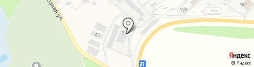 Листвин на карте Вартемяг