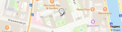 Дом на Итальянской, ТСЖ на карте Санкт-Петербурга