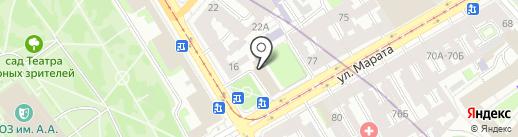 28 отдел полиции на карте Санкт-Петербурга