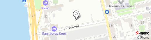 Промэлектро на карте Санкт-Петербурга