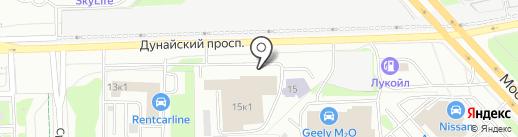 Волга-Сервис на карте Санкт-Петербурга