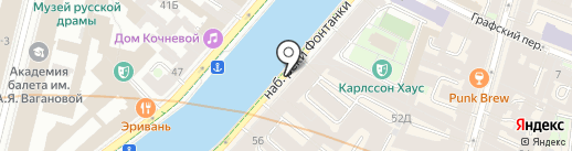 Винотека Grand Cru на карте Санкт-Петербурга