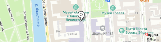 Часовня во имя Апостола и Евангелиста Луки на карте Санкт-Петербурга