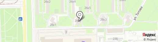 ЖСК №467 на карте Санкт-Петербурга