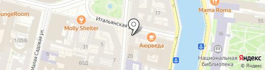 ИнсФинанс на карте Санкт-Петербурга