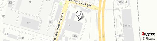 СЕРВИС 555 Субару на карте Санкт-Петербурга