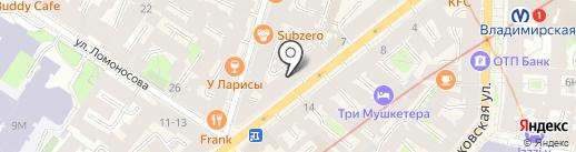 Twinpix на карте Санкт-Петербурга