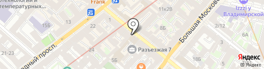Медтест, ЗАО на карте Санкт-Петербурга