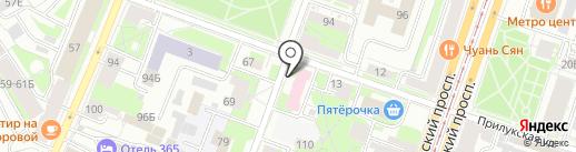 Центр охраны здоровья детей и подростков на карте Санкт-Петербурга