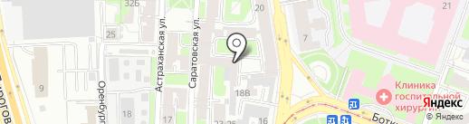 Диком Северо-Запад на карте Санкт-Петербурга