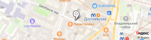 БИМК-Кардио на карте Санкт-Петербурга