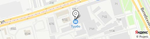 Оптовый склад на карте Санкт-Петербурга