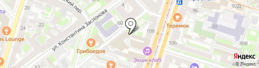 АксиомА на карте Санкт-Петербурга