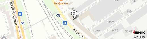 АСД на карте Санкт-Петербурга