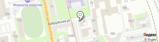 Control systems на карте Санкт-Петербурга