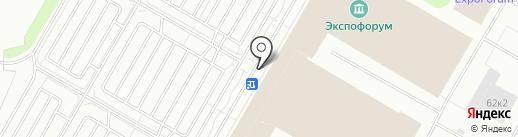Российский промышленник на карте Санкт-Петербурга