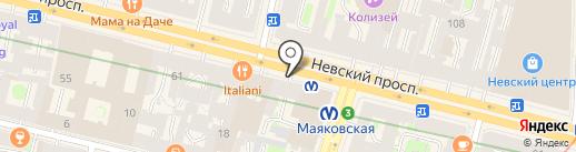 Невский Форум на карте Санкт-Петербурга