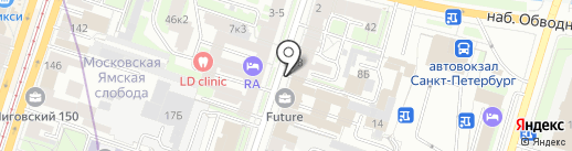 Элим СП на карте Санкт-Петербурга