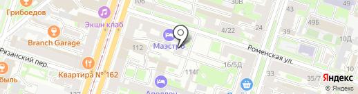Центр Комплектования Библиотек на карте Санкт-Петербурга