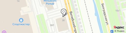 Производственно-торговая компания на карте Санкт-Петербурга