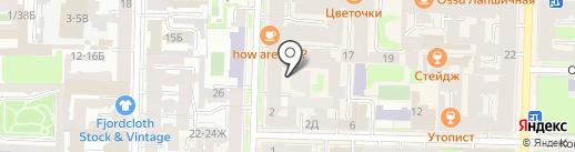 Санкт-Петербургский государственный академический театр балета им. Леонида Якобсона на карте Санкт-Петербурга