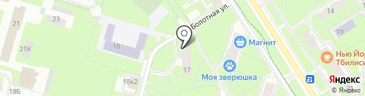 ЖСК №216 на карте Санкт-Петербурга