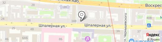 ИнВИТА на карте Санкт-Петербурга