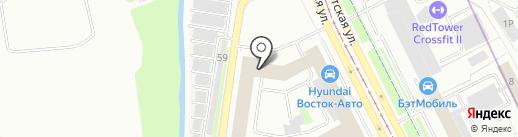 ТКМ-авто на карте Санкт-Петербурга
