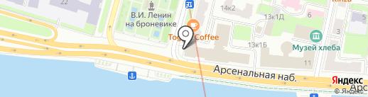 Межрайонная инспекция Федеральной налоговой службы России №18 по г. Санкт-Петербургу на карте Санкт-Петербурга