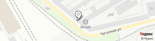 ЛЕРРОЙ на карте Санкт-Петербурга